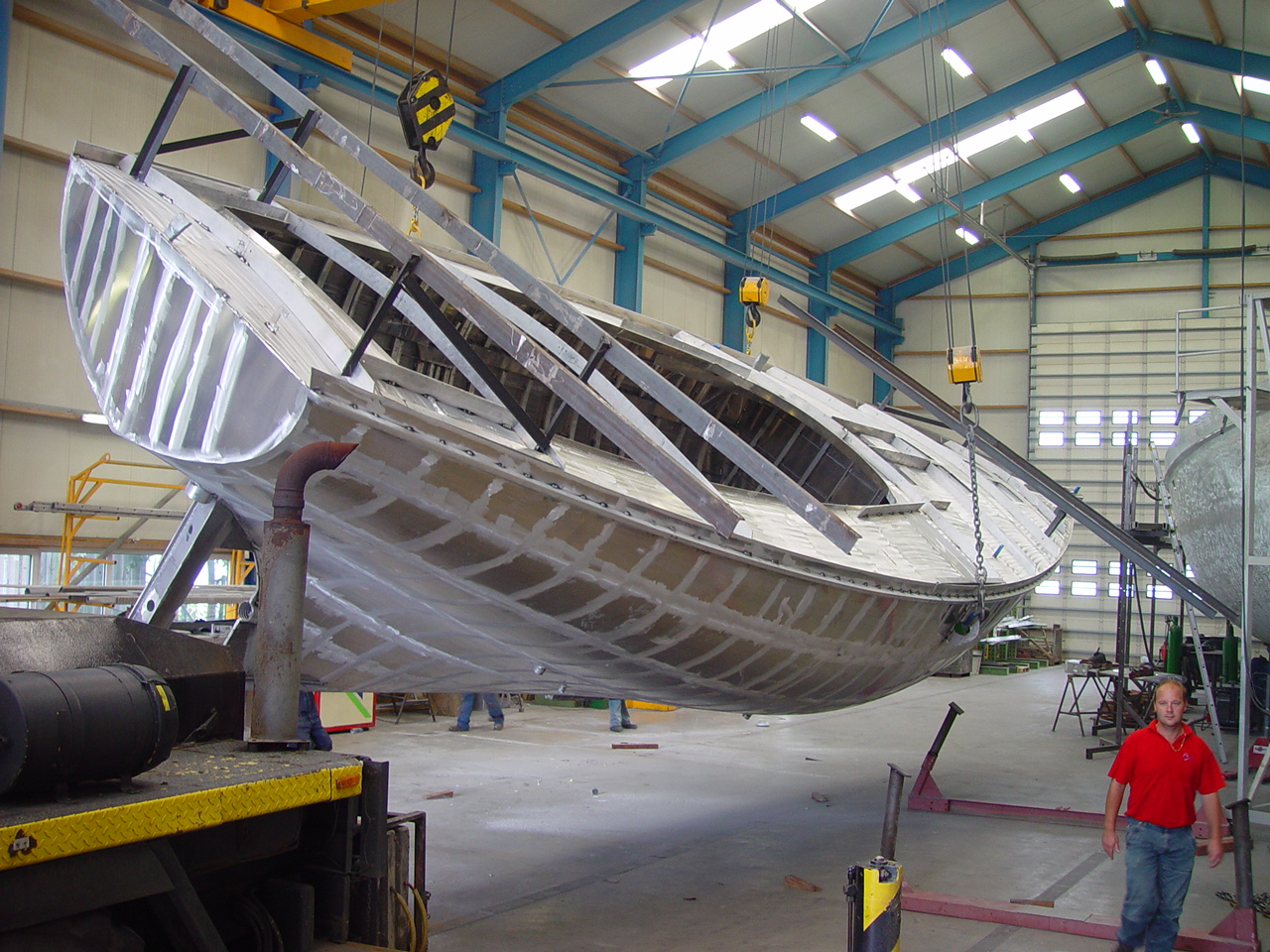 Boat building | Windpilot Blog EN