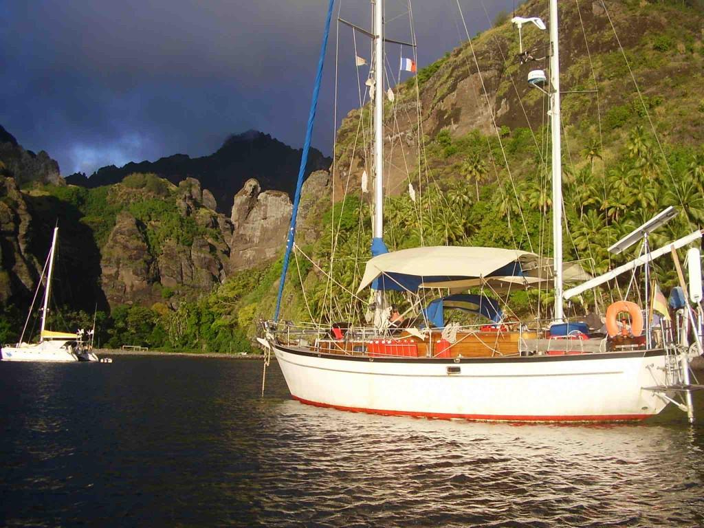SV Symi in Bora Bora