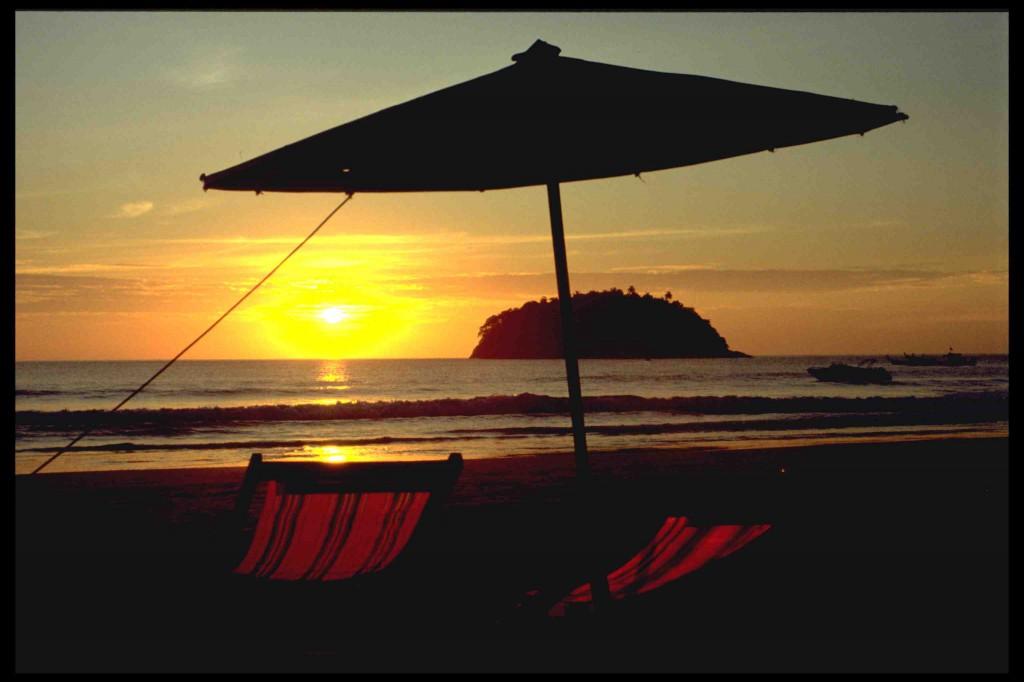 Thailand Sonnenuntergang kl