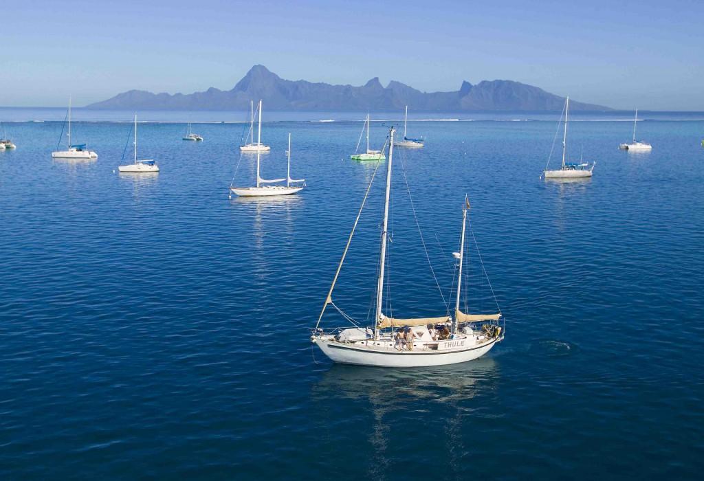 Ankerplatz auf Tahiti low