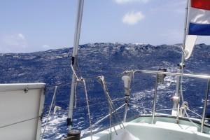 Hope under sail