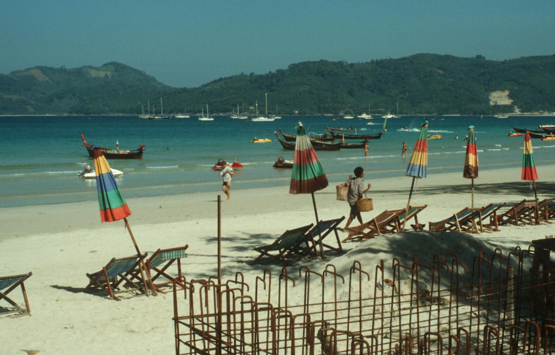 Thailand beach boats Kopie 2