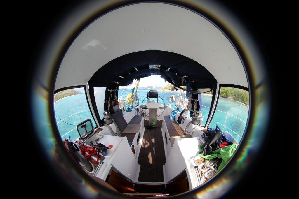 Cockpit rund