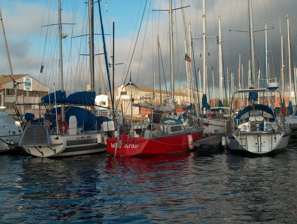 Waskaran in Cape town after 53 days at sea